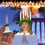 Swedish Lucia service at the Cathedral @ Anglican Cathedral in Liverpool