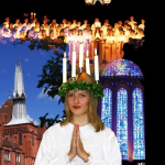 Swedish Lucia service at the Cathedral
