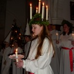 Lucia celebrations @ Gustaf Adolf Nordic Church