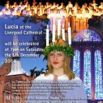 Swedish Lucia service  @ Anglican Cathedral in Liverpool